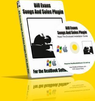 Bill Evans Songs And Solos Fakebook Software at www.RealBookSoftware.com