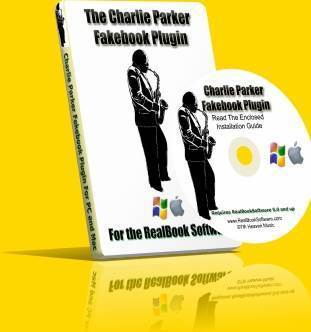 Charlie Parker Fakebook Software at www.RealBookSoftware.com